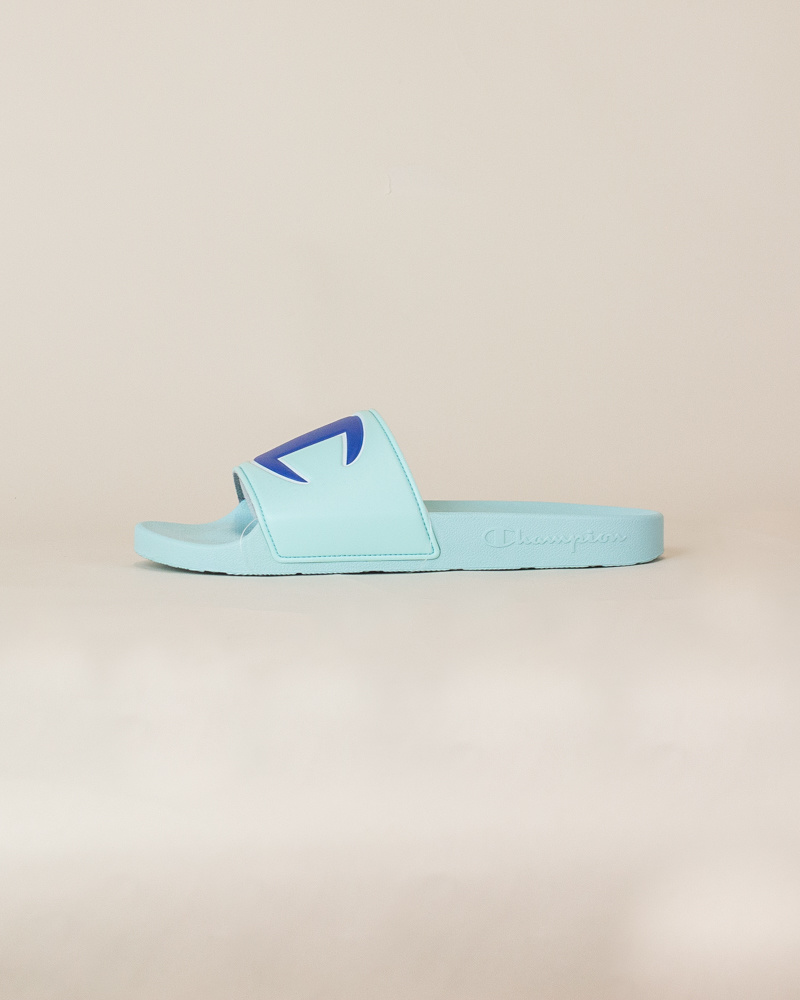 Champion IPO Slide Sandals - Waterfall-1