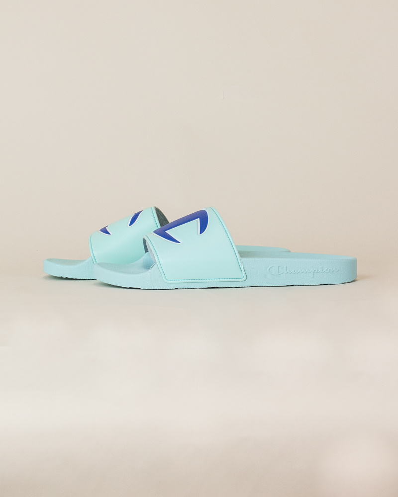 Champion IPO Slide Sandals - Waterfall-2