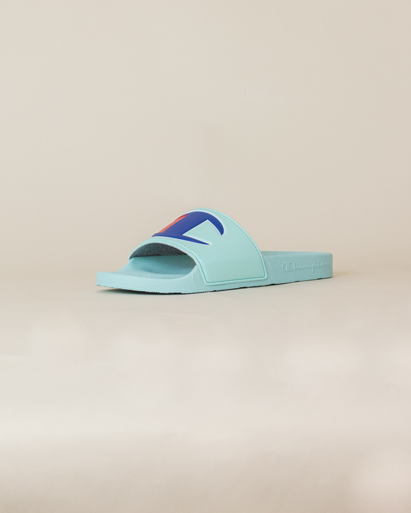 Champion IPO Slide Sandals - Waterfall-3