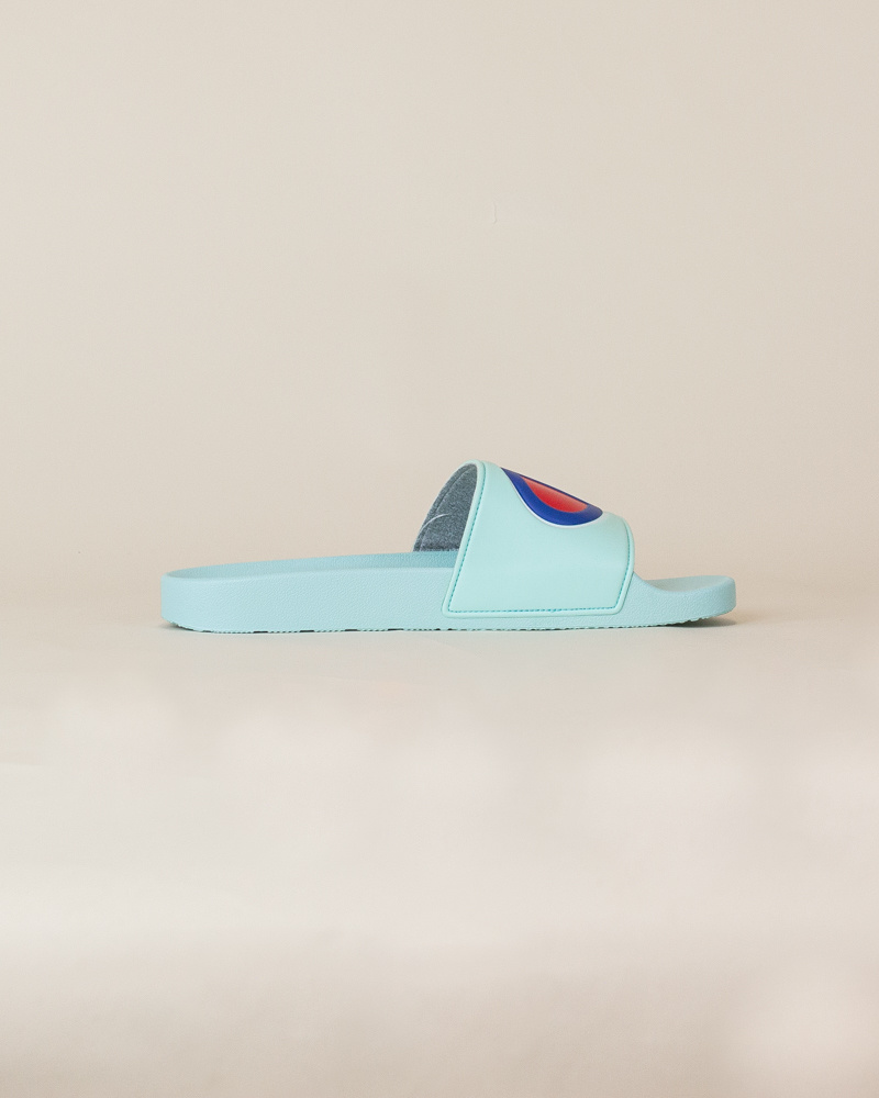 Champion IPO Slide Sandals - Waterfall-4