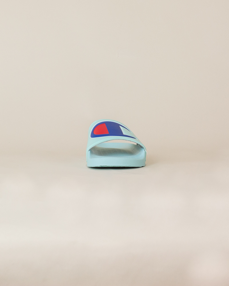 Champion IPO Slide Sandals - Waterfall-5