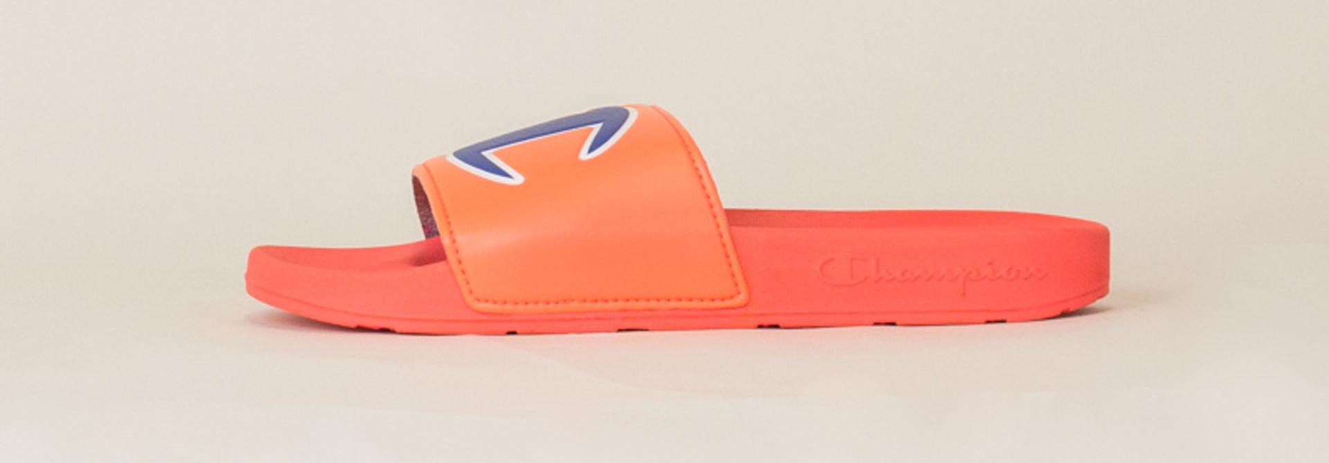 Champion IPO Slide Sandals - Groovy