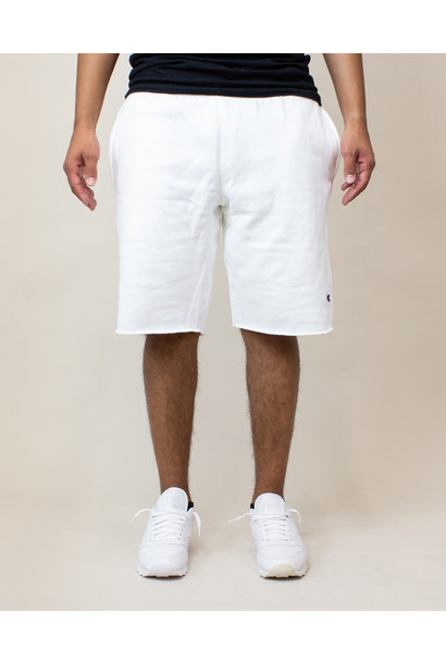 Champion Reverse Weave Cut-Off Shorts - White