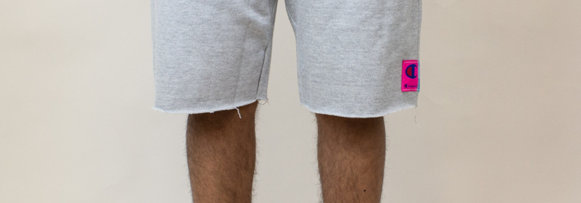 Champion Reverse Weave Cut-Off Shorts - Gray