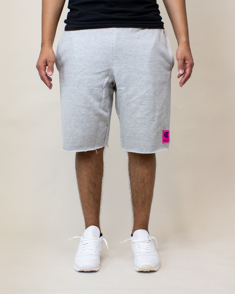 Champion Reverse Weave Cut-Off Shorts - Gray-1