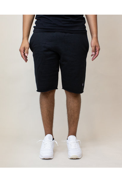 Champion Reverse Weave Cut-Off Shorts - Black