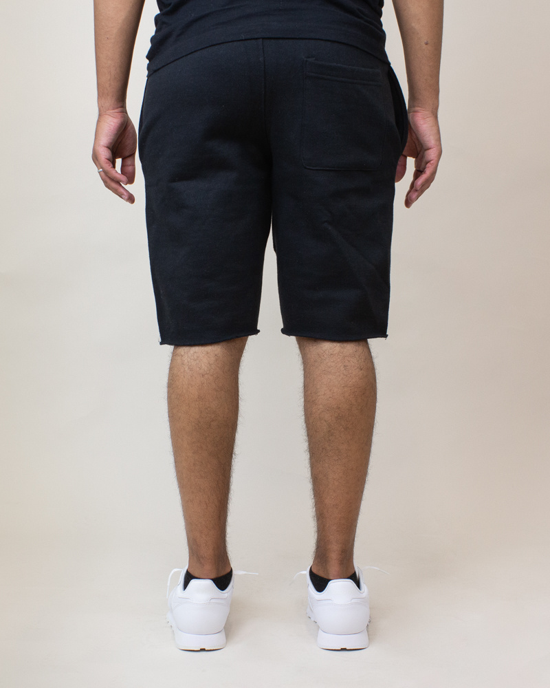 Champion Reverse Weave Cut-Off Shorts - Black-4