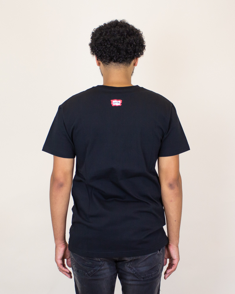 Icecream Flag SS Tee - Black-2