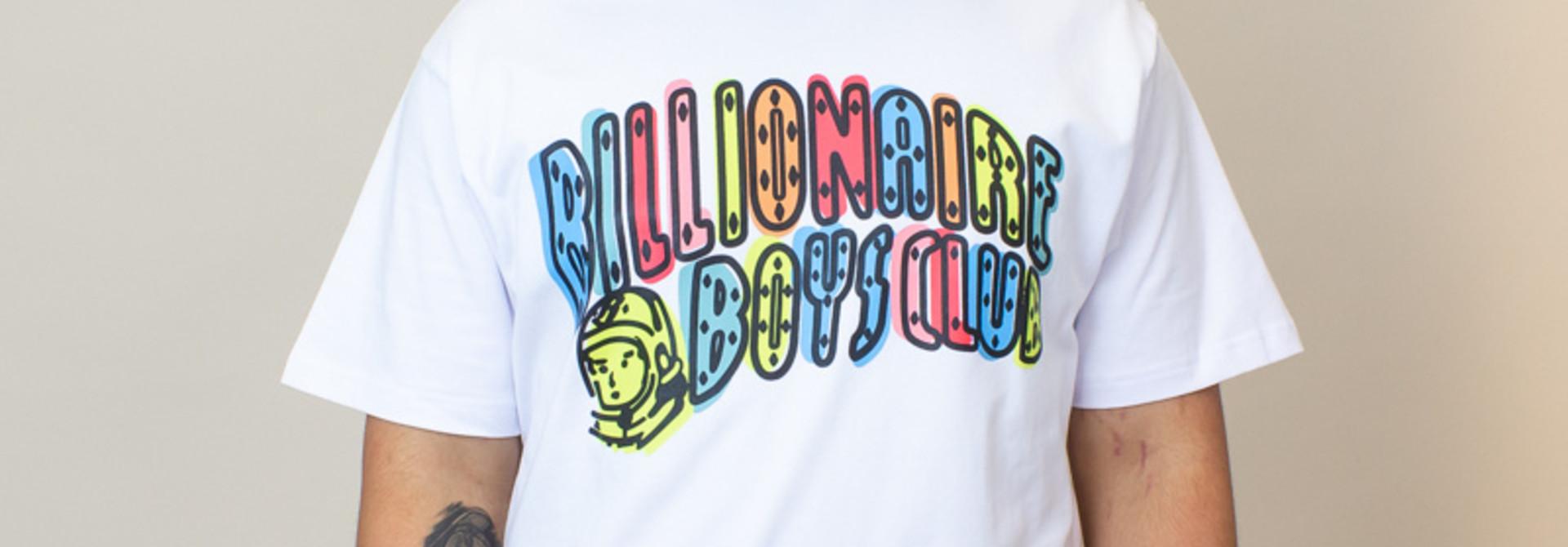 Billionaire Boys Club Off Registration SS Tee - White