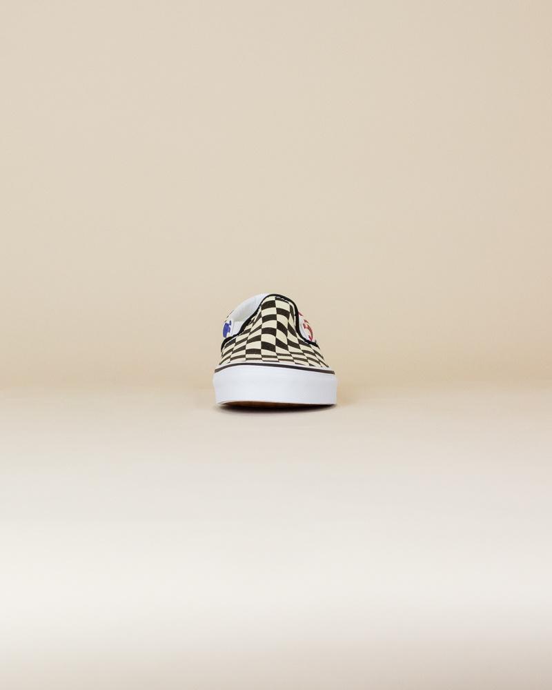 Vans Glitter Check Classic Slip-On - Multi/True White-5