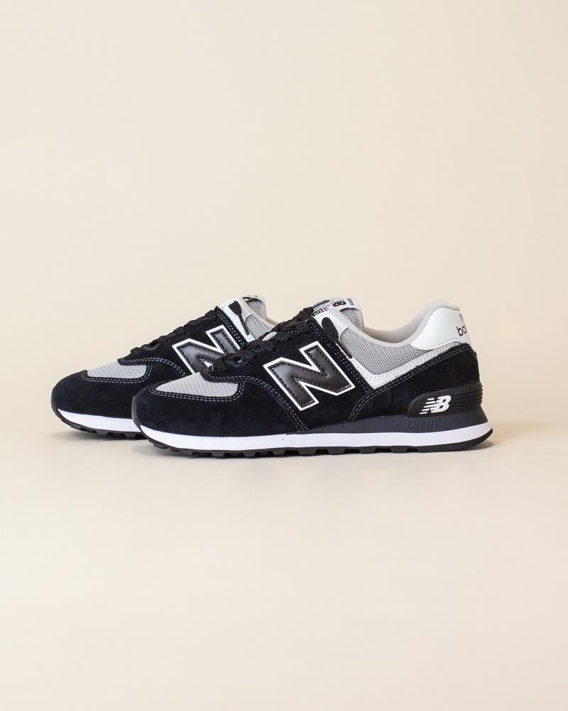 New Balance 574 SSN - Black/White-2