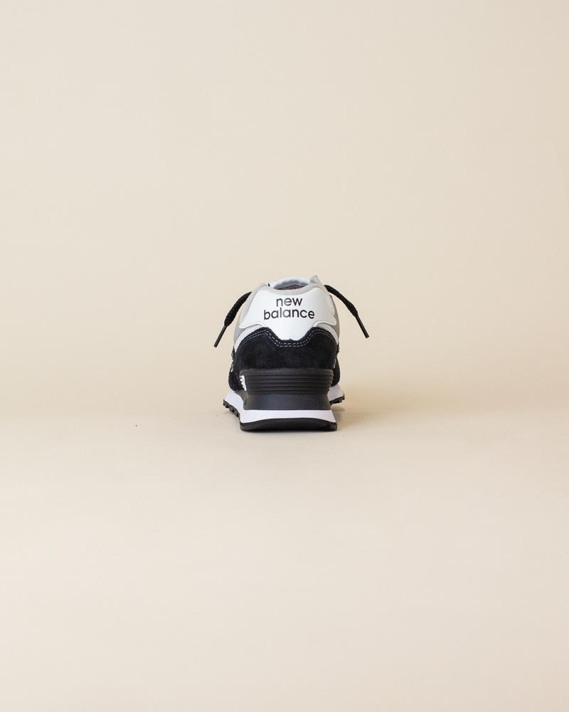 New Balance 574 SSN - Black/White-6