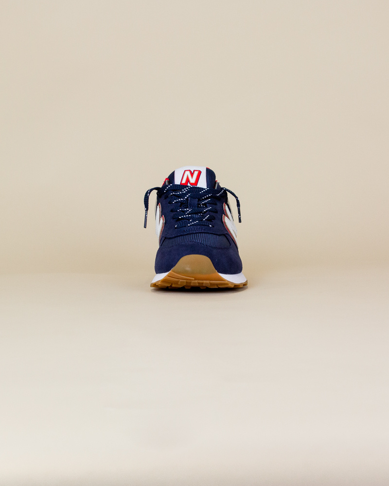 New Balance 574 SKB - Navy/ Energy Red-5