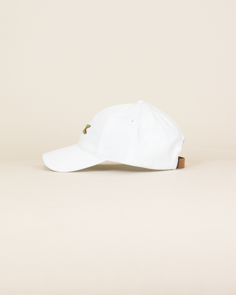 Lacoste Big Croc Cap - White-2