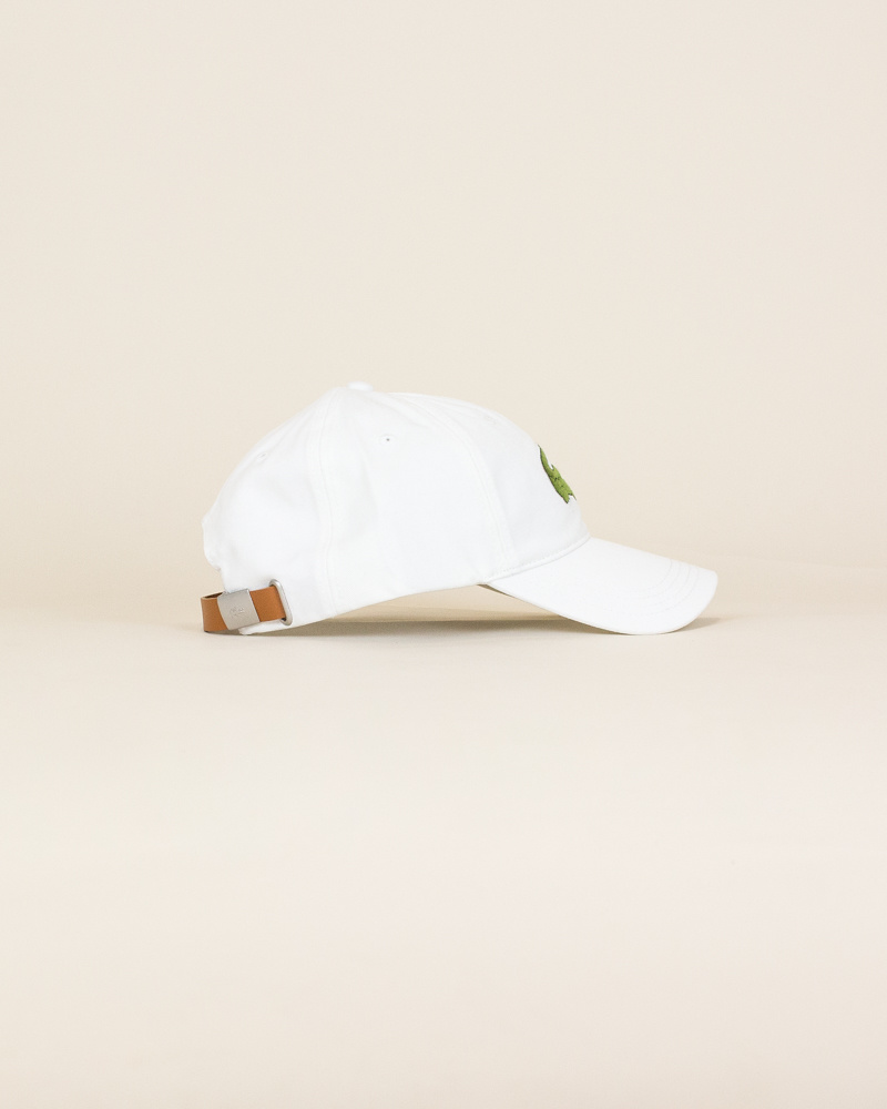 Lacoste Big Croc Cap - White-3