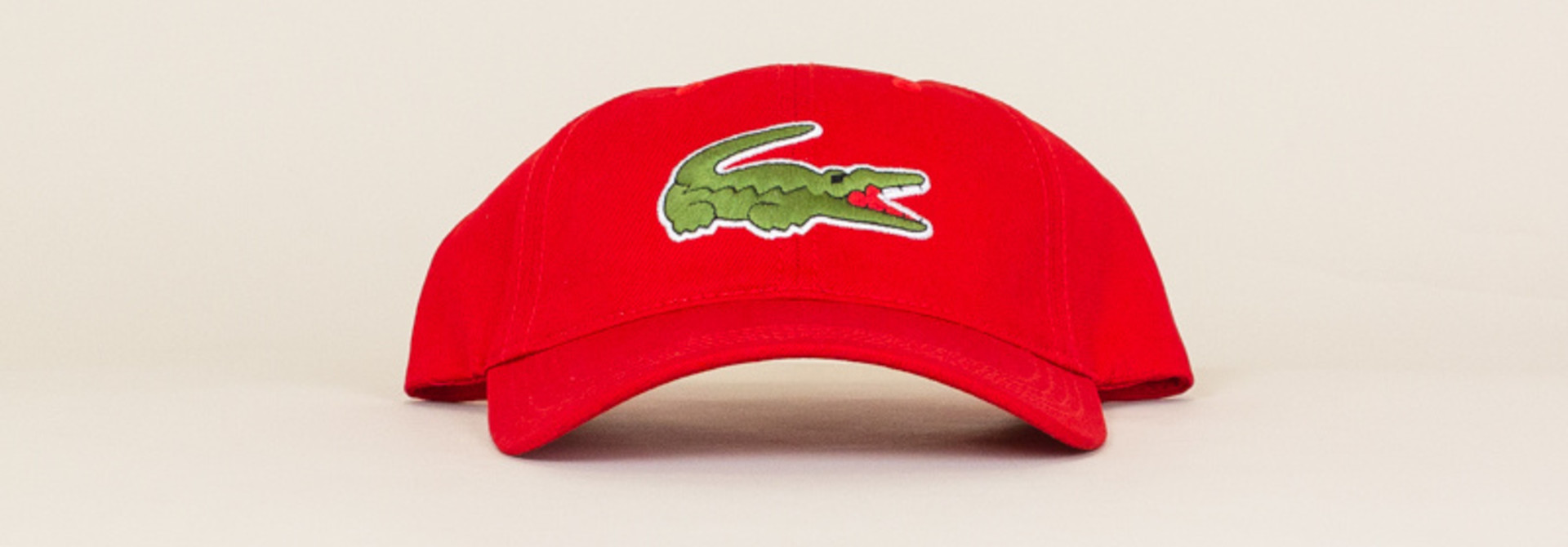 Lacoste Big Croc Cap - Red