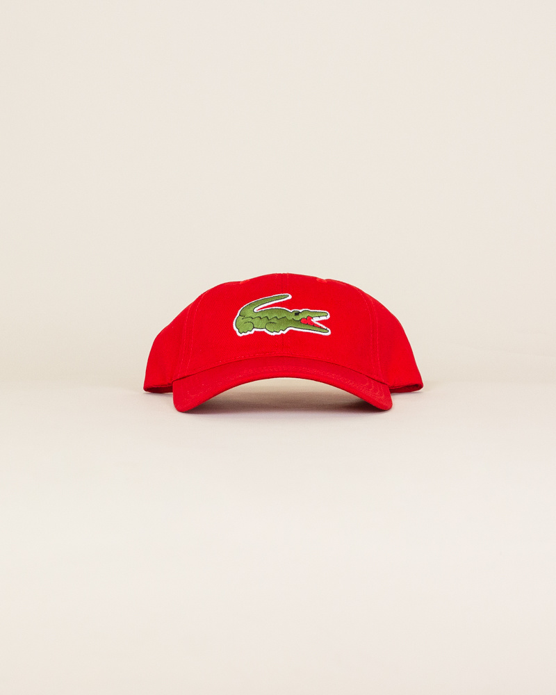 Lacoste Big Croc Cap - Red-1