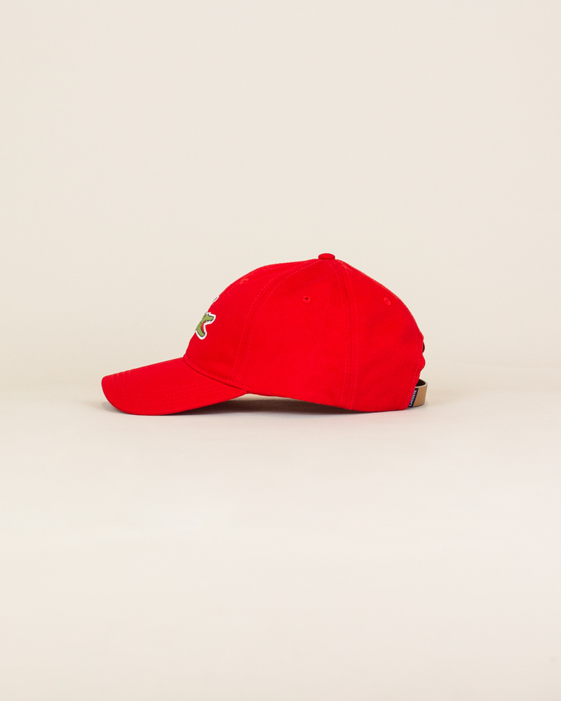 Lacoste Big Croc Cap - Red-2