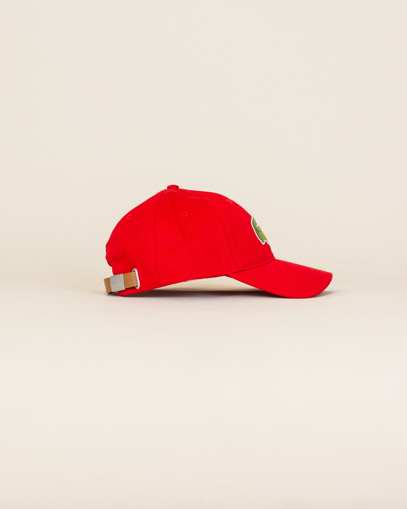 Lacoste Big Croc Cap - Red-3