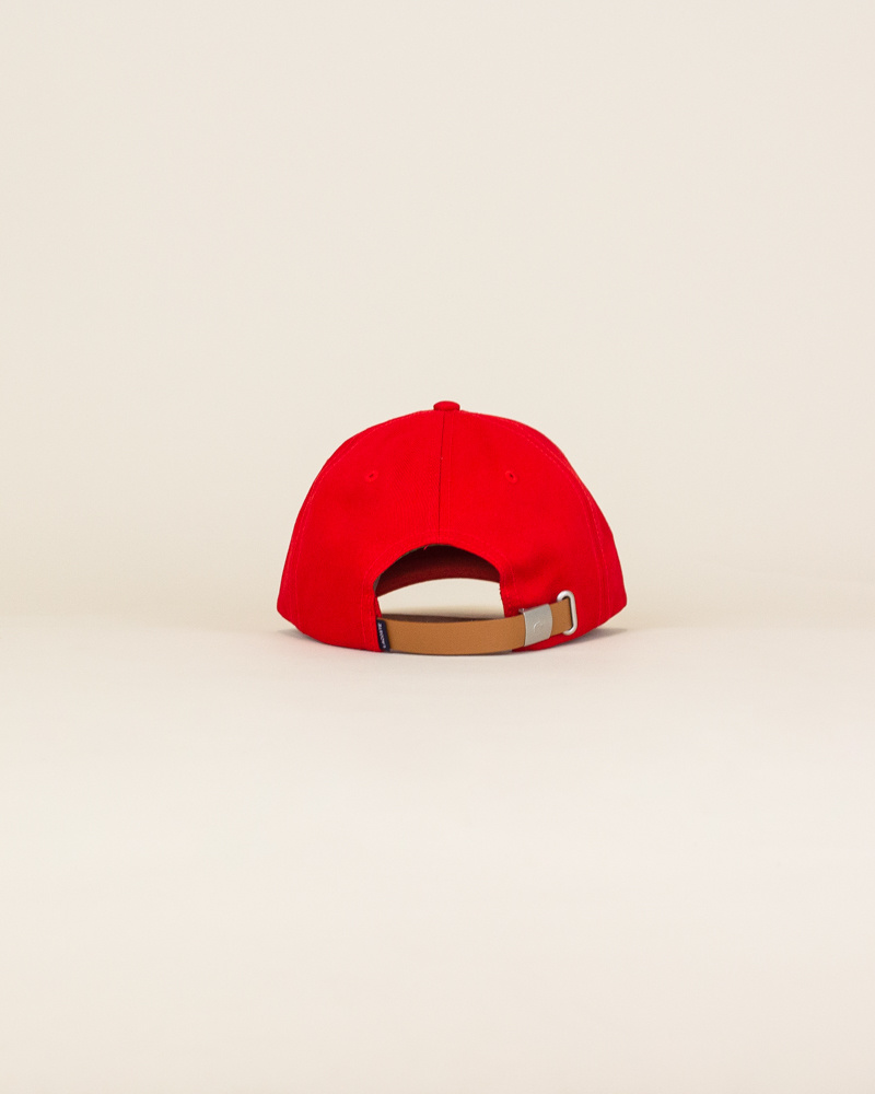 Lacoste Big Croc Cap - Red-4