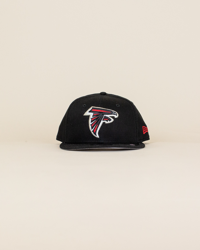 New Era Atlanta Falcons Snapback Hat - Black-1
