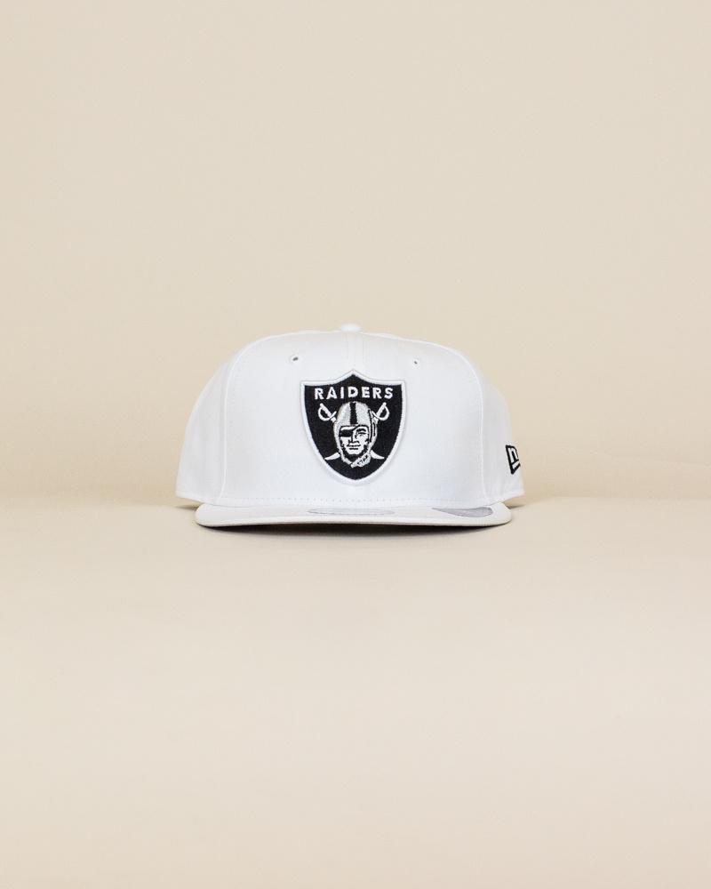 New Era Las Vegas Raiders Snapback Hat - White-1
