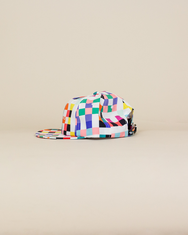 Diamond Supply Pixel Hat - White-2