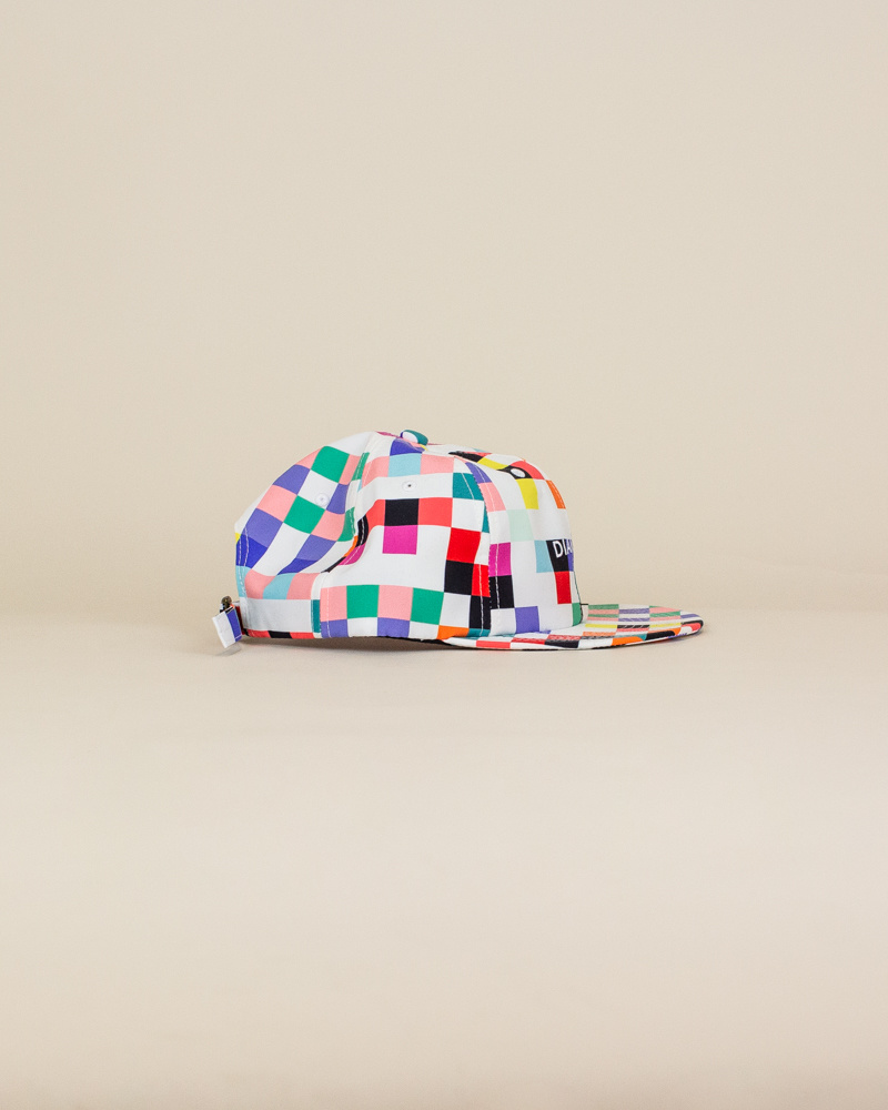 Diamond Supply Pixel Hat - White-3