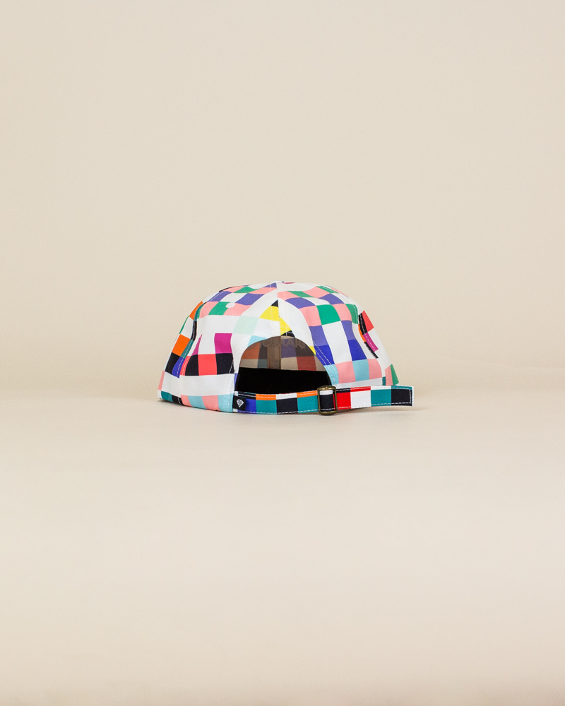 Diamond Supply Pixel Hat - White-4