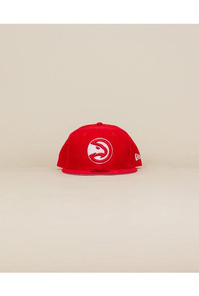 New Era Atlanta Hawks Snapback Hat - Red
