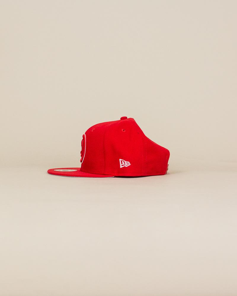 New Era Atlanta Hawks Snapback Hat - Red-2