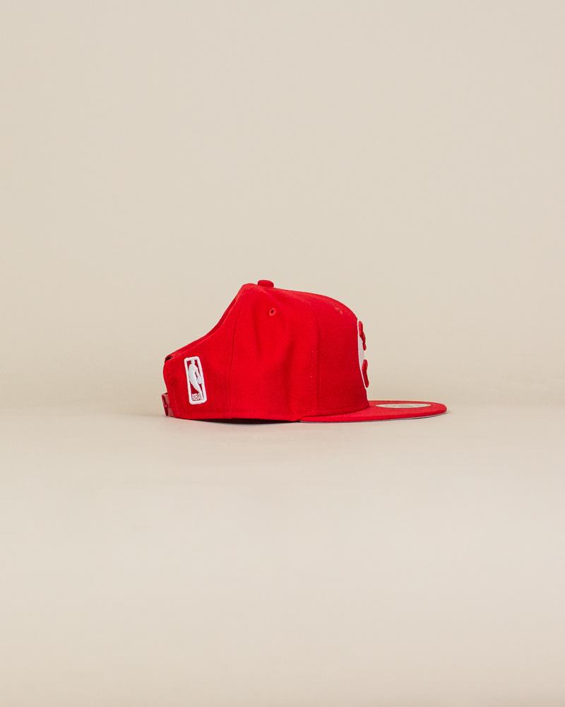 New Era Atlanta Hawks Snapback Hat - Red-3
