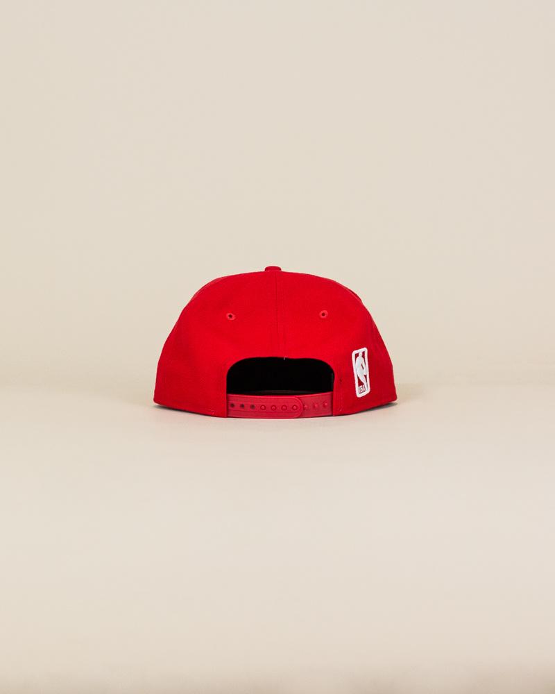 New Era Atlanta Hawks Snapback Hat - Red-4