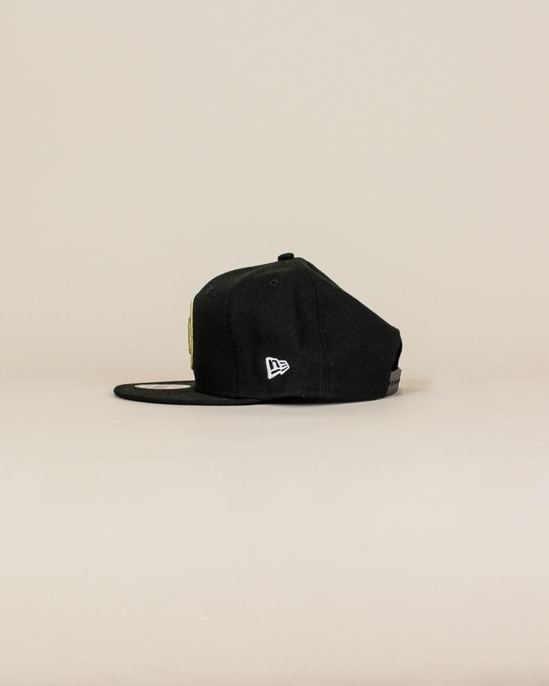 New Era Atlanta United Fc Snapback Hat - Black-2
