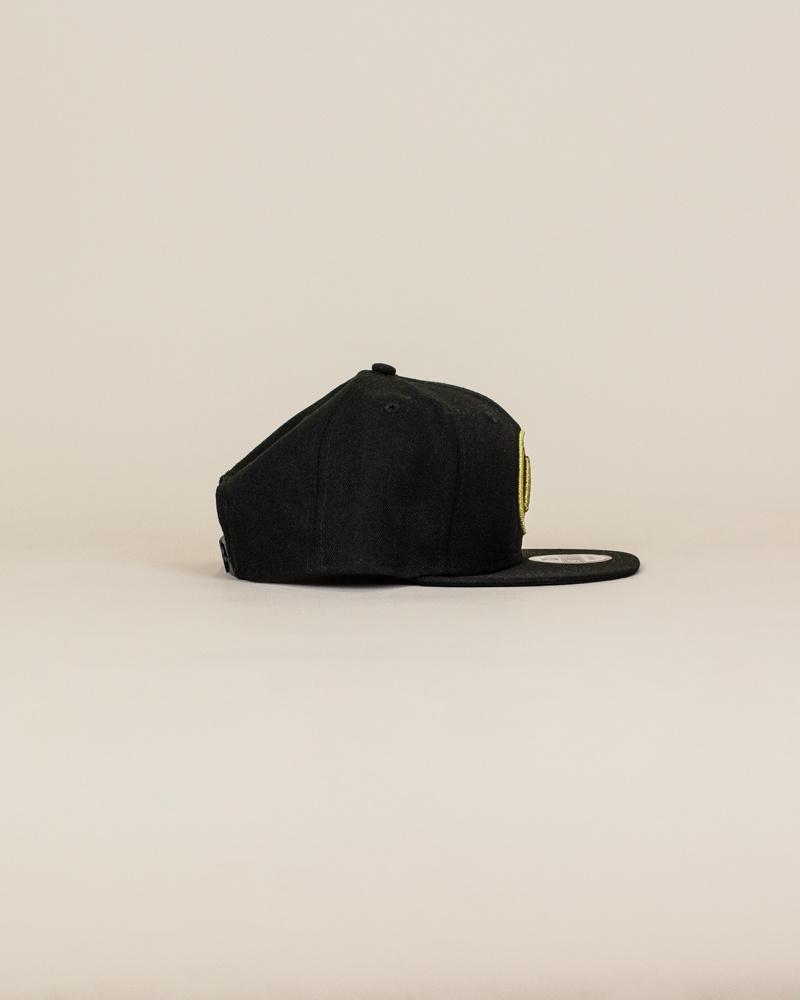 New Era Atlanta United Fc Snapback Hat - Black-3