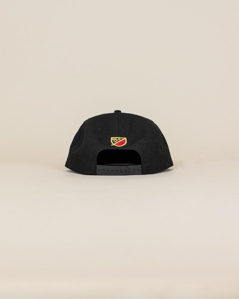 New Era Atlanta United Fc Snapback Hat - Black-4