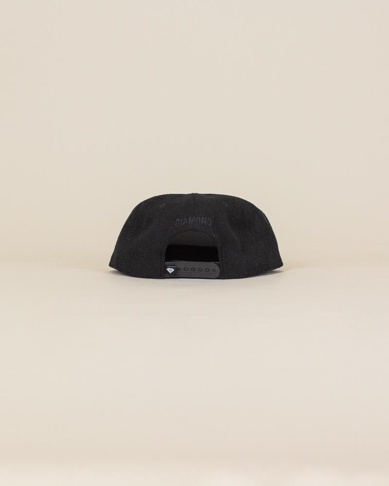 Diamond Supply Home Team Hat - Black-4