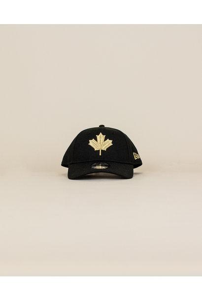 New Era Toronto Raptors Strapback Cap - Black