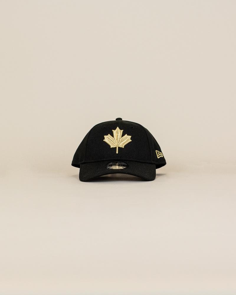 New Era Toronto Raptors Strapback Cap - Black-1