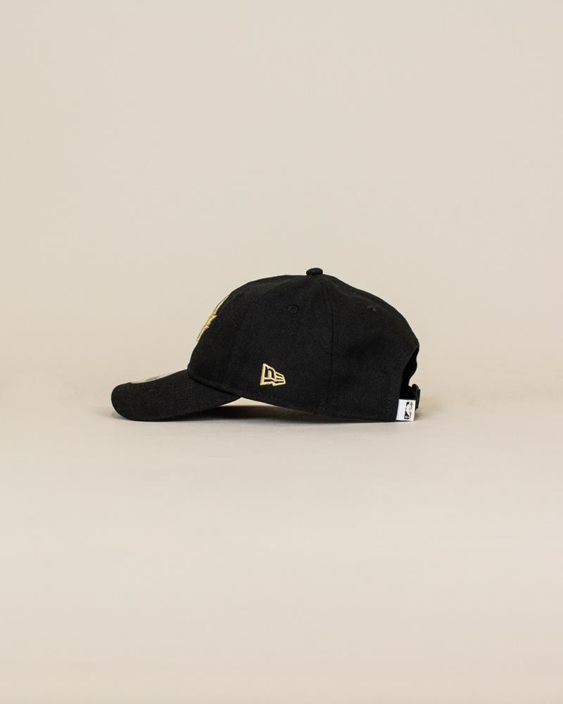 New Era Toronto Raptors Strapback Cap - Black-2