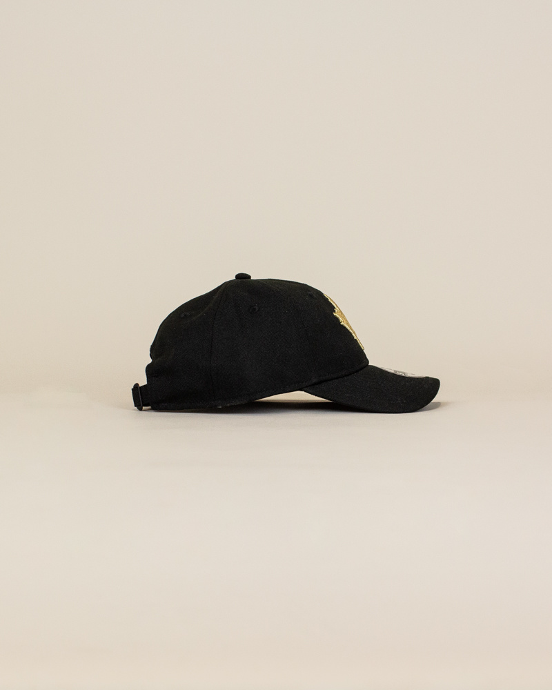 New Era Toronto Raptors Strapback Cap - Black-3
