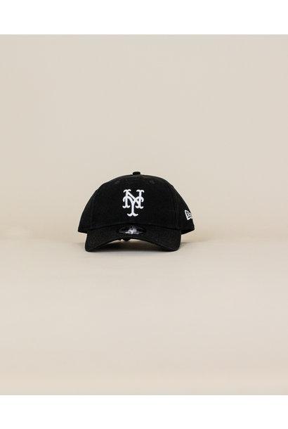 New Era New York Mets Core Classic Strapback - Black