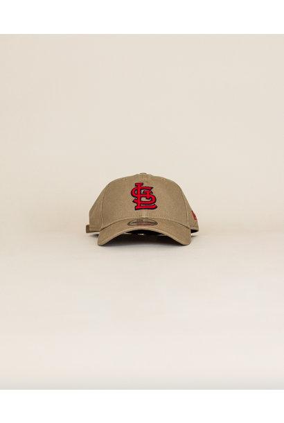 New Era St. Louis Cardinals Strapback Cap - Khaki