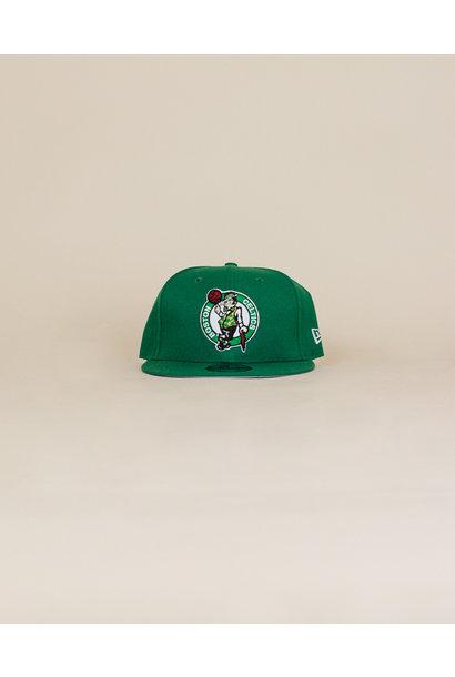 New Era Boston Celtics Snapback Hat - Green