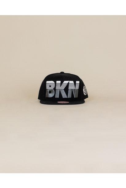 Mitchell & Ness Abbreviation Hat - Brooklyn Nets