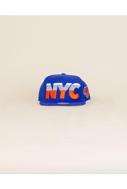 Mitchell & Ness Abbreviation Hat - New York Knicks