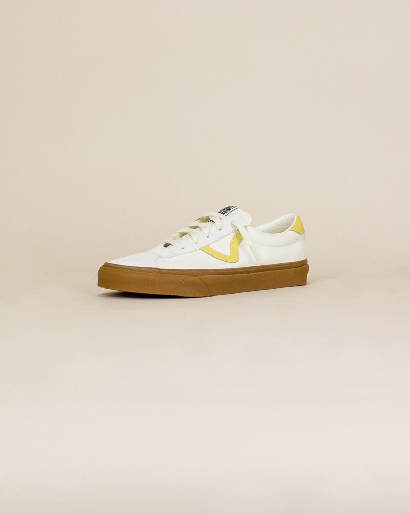 Vans Gum Sport - Marshmallow/Cream Gold-3