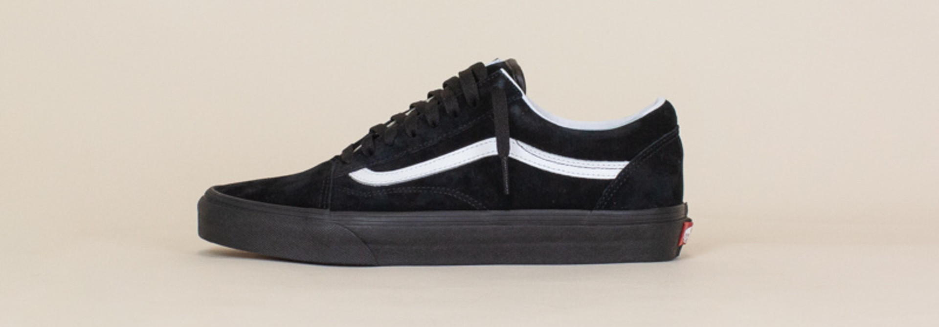 Vans Old Skool Pig Suede - Black/White