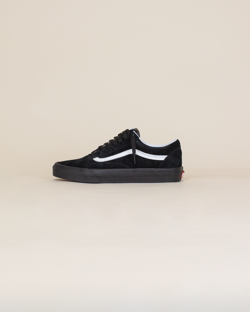Vans Old Skool Pig Suede - Black/White-1