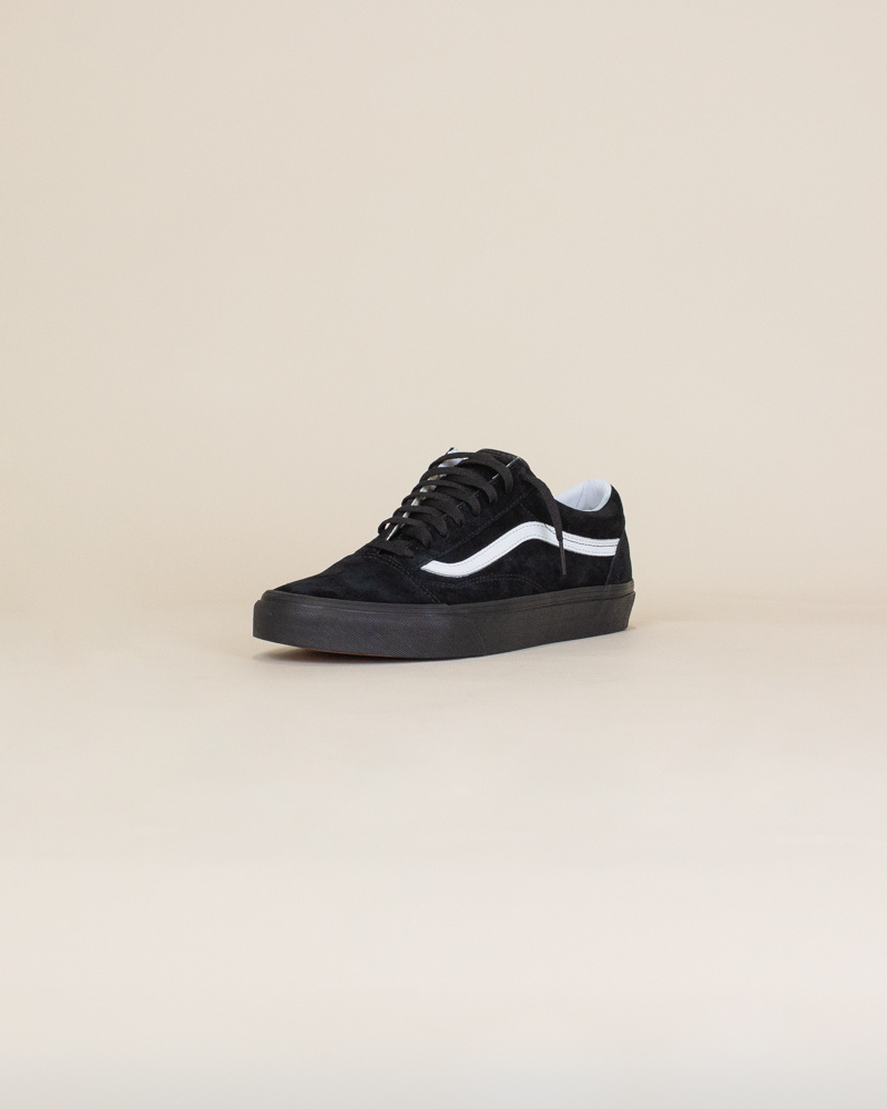 Vans Old Skool Pig Suede - Black/White-3